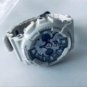 White Genuine G-Shock GMA-S120MF Women's Watch